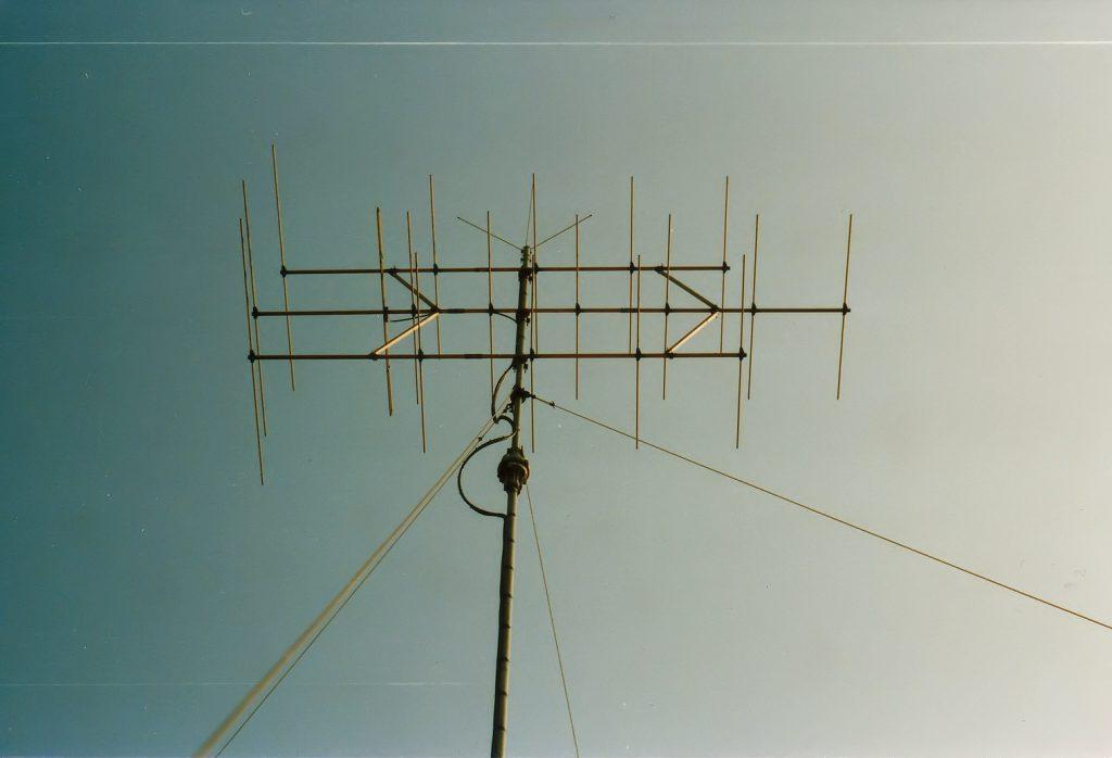 FM-antenne 18 elements & 5/8e 2 meter antennes