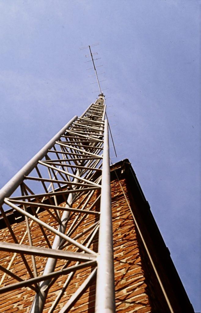 Versatower uitgeschoven 30 meter hoogte