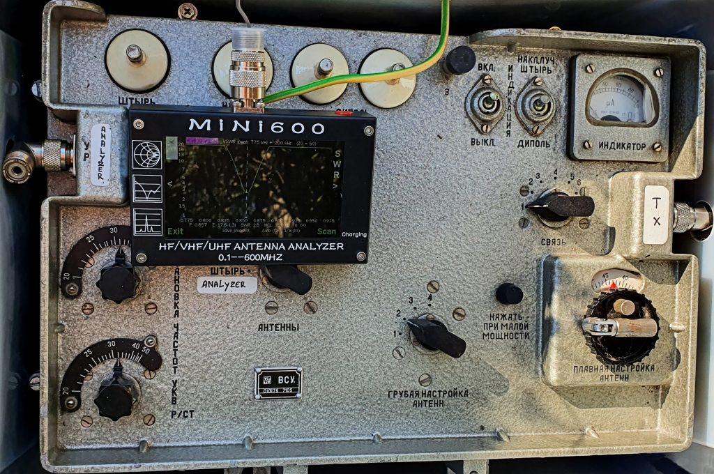 Meting HF impedantie 1
